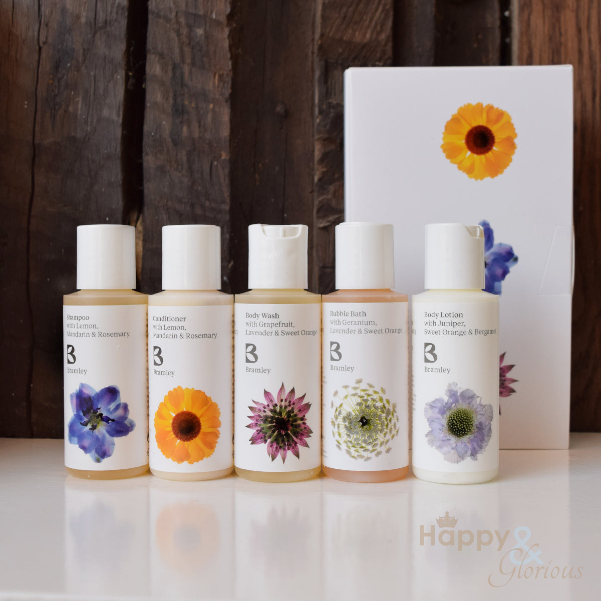 Mini 'starter' pampering gift set by Bramley Products
