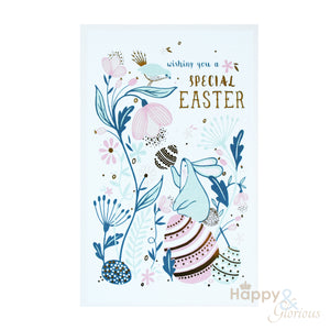 Packs of six Easter cards - made in London