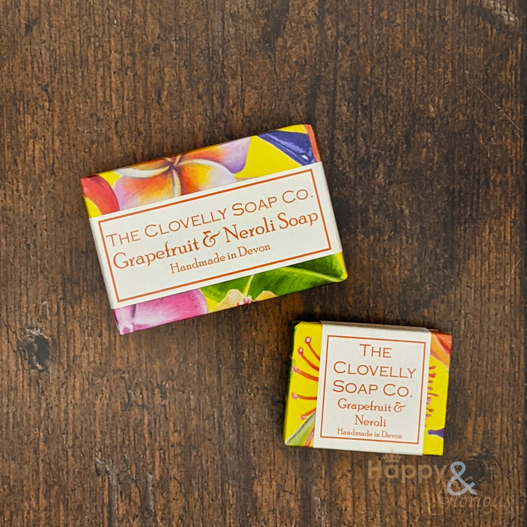 Clovelly Grapefruit & Neroli essential oil soap