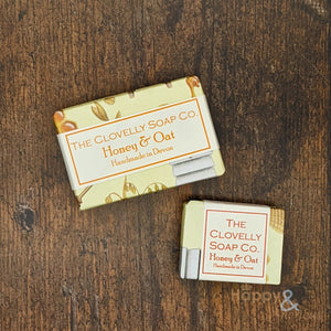 Clovelly Honey & Oat essential oil soap