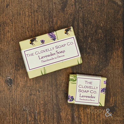 Clovelly Lavender Essential Oil Soap