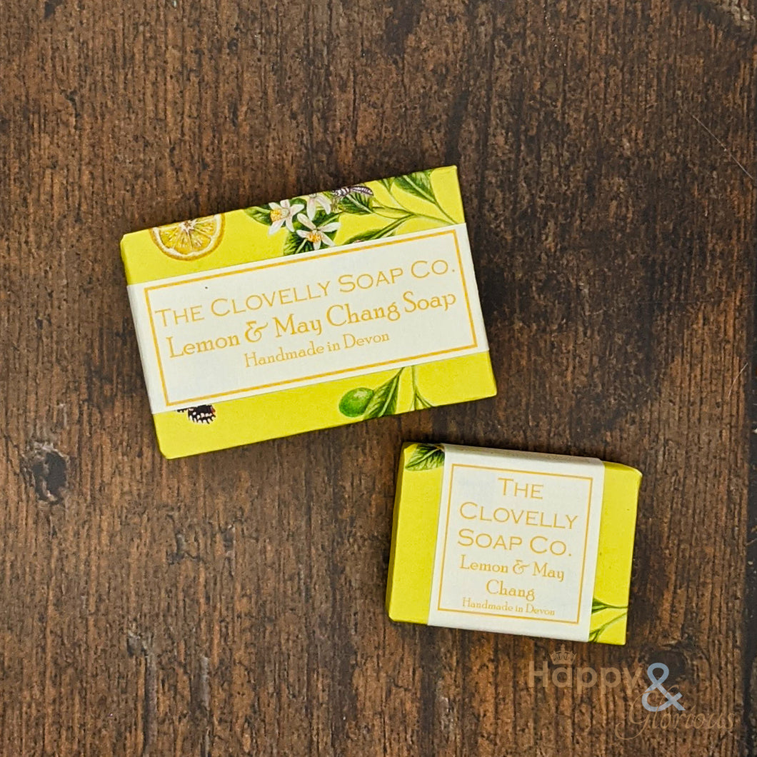Clovelly Lemon & May Chang Essential Oil Soap