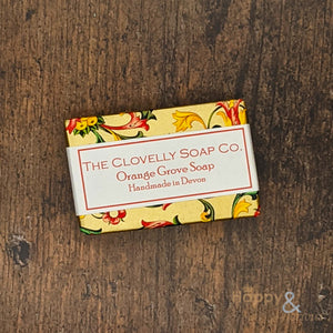 Clovelly orange grove essential oil soap