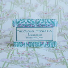 Clovelly Peppermint essential oil soap