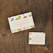 Clovelly Rose Geranium Essential Oil Soap