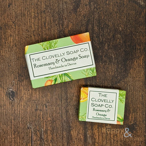Clovelly Rosemary & Orange essential oil soap