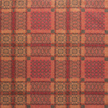 Copper 'Knot Garden' pure lambswool throw by Melin Tregwynt