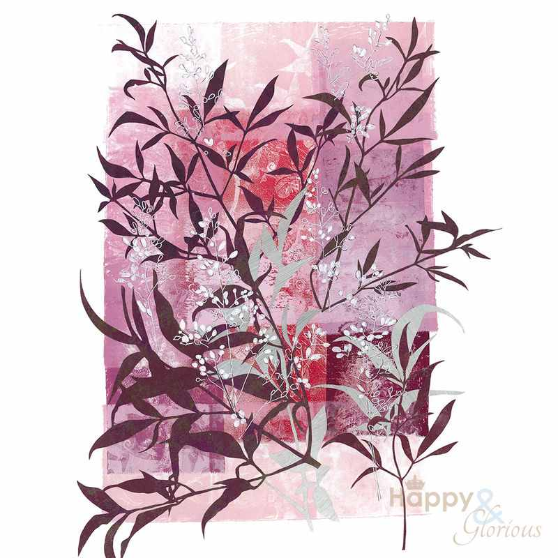 'Heavenly Bamboo' limited edition, museum quality reproduction print by Louise Pettifer