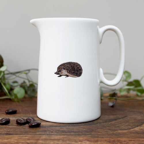 Hedgehog half pint china jug