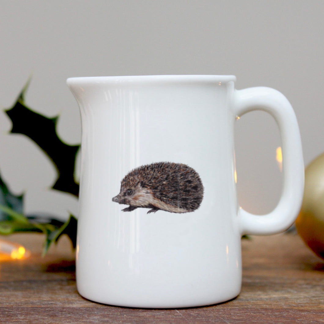 Hedgehog mini china jug