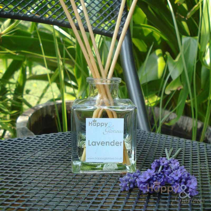 Lavender essential oil fragrance reed diffuser