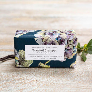 Patchouli, vanilla & sandalwood soap