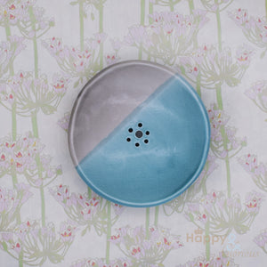 Porcelain soap dish, handmade by Penny Spooner