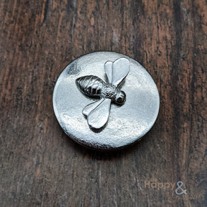 Pewter bee small jewellery & trinket box by Lancaster & Gibbings