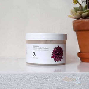 Lavender flower, Geranium & Spearmint bath salts by Bramley Products