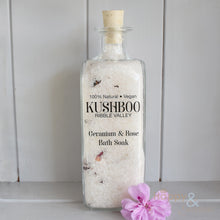 Kushboo handmade vegan bath soak with essential oils