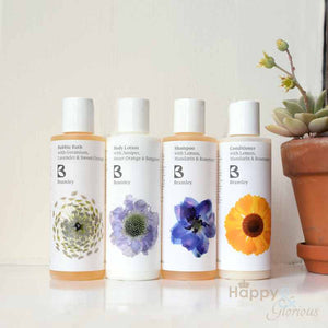 Travel bath & hair gift set by Bramley Products