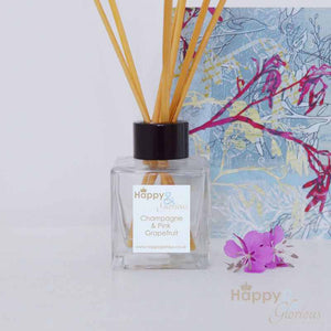 Champagne & Pink Grapefruit fragrance reed diffuser