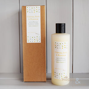 Uplifting Citrus, Herb & Blossom bubble bath