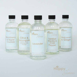 Fizz & Pink Grapefruit fragrance diffuser refill oil with reeds