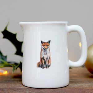 Fox mini china jug