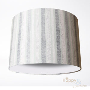 Grey birch trees lampshade