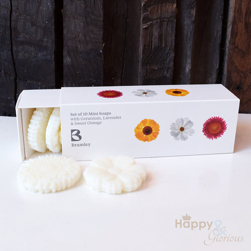 Guest soap gift set by Bramley Products