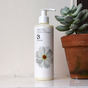 Lavender, Geranium & Petitgrain hand cream by Bramley Products