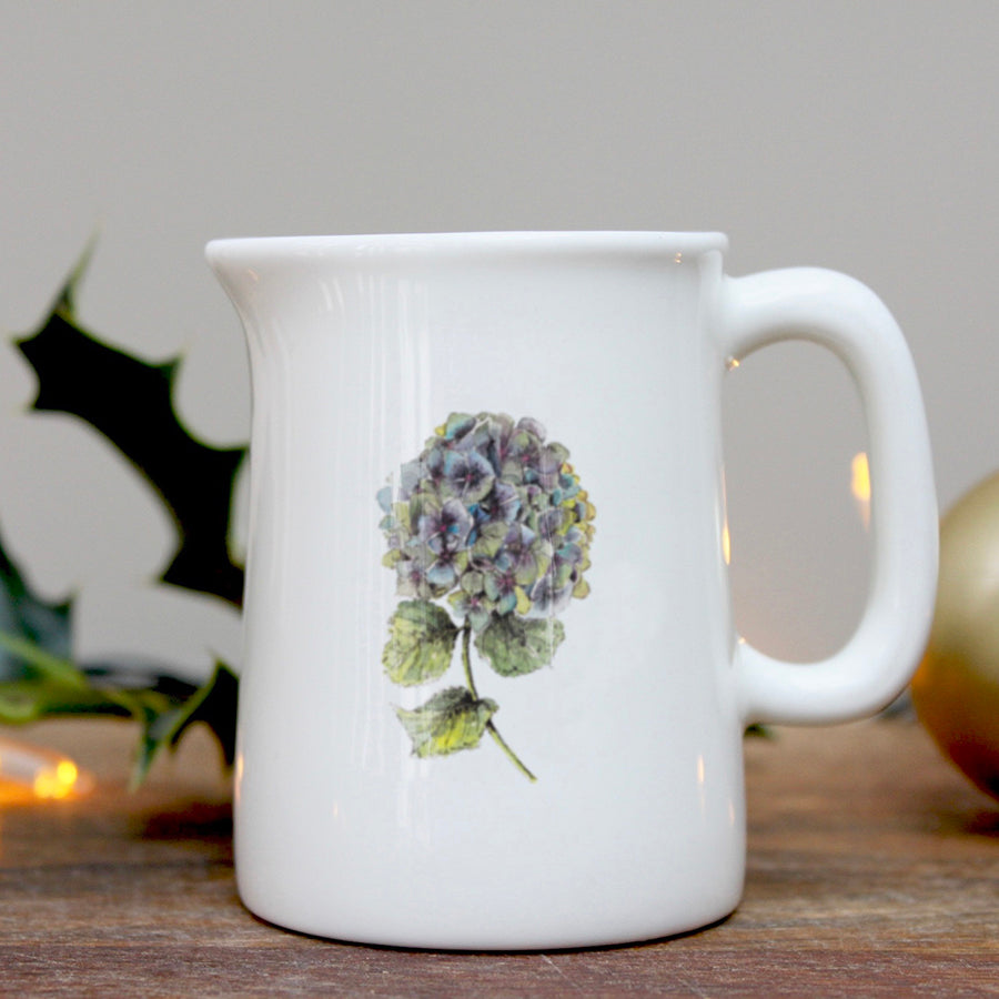 Hydrangea mini china jug