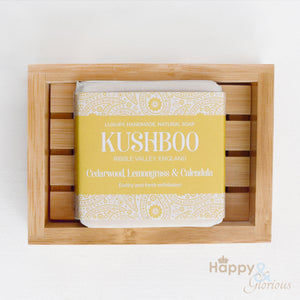 Kushboo Handmade Vegan Soap with essential oils