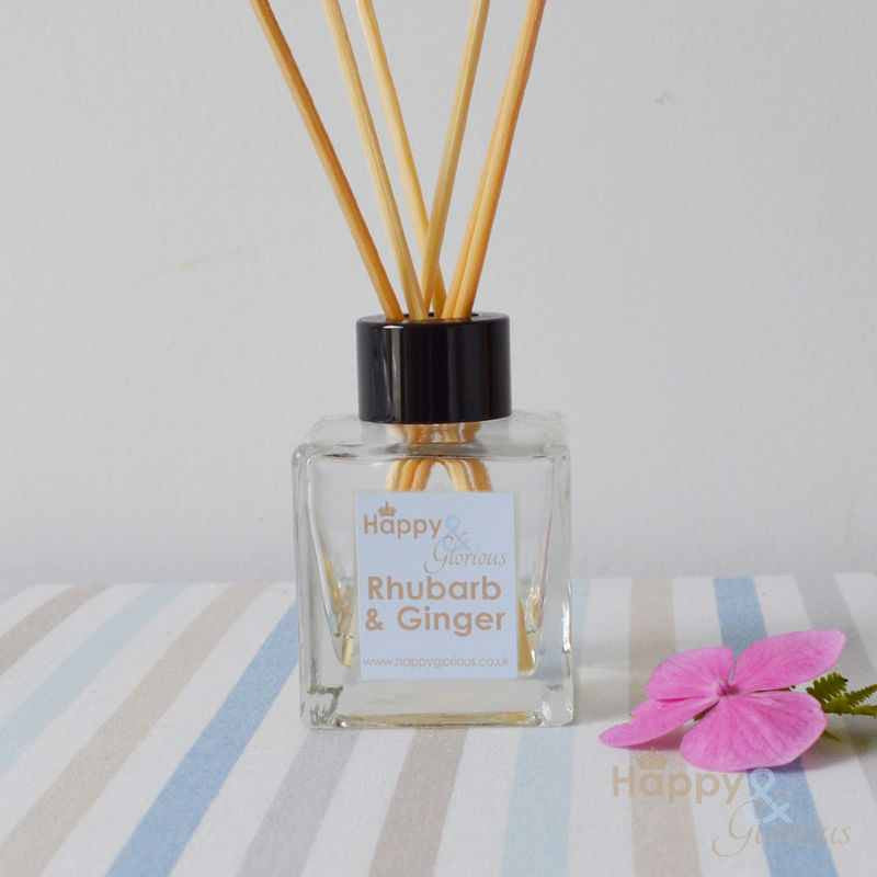 Rhubarb & Ginger fragrance reed diffuser