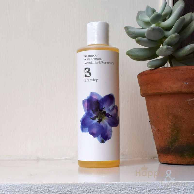 Lemon, Mandarin & Rosemary shampoo by Bramley Products
