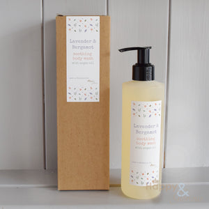 Soothing Lavender & Bergamot body wash