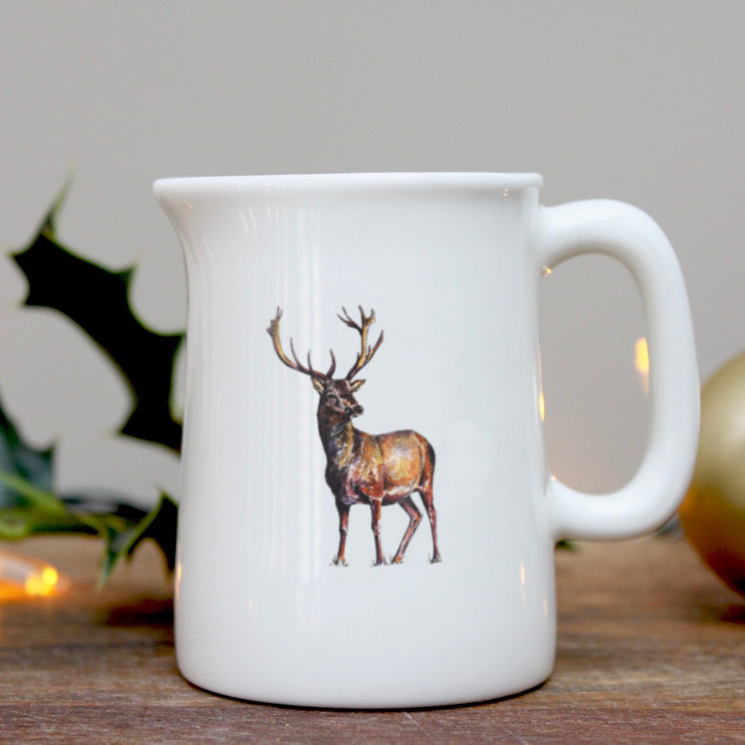 Stag mini china jug