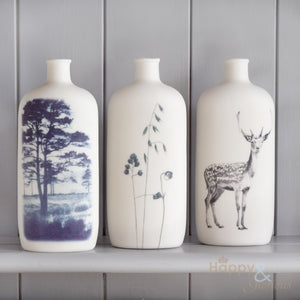 Porcelain large medicine bottle vase