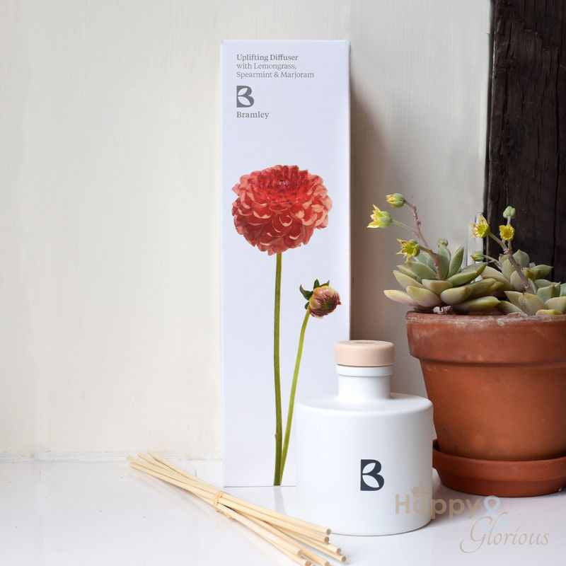 Uplifting fragrance diffuser with Lemongrass, Spearmint & Marjoram by Bramley Products