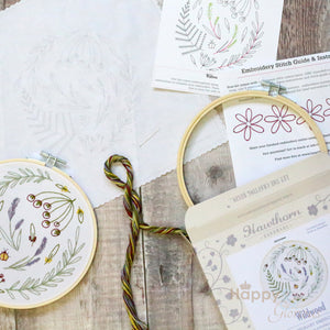 Wildwood contemporary embroidery craft kit