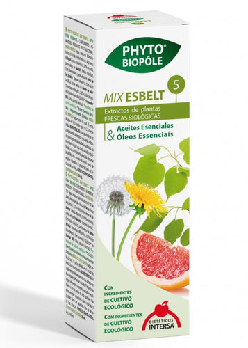 PHYTOBIOPOLE MIX-ESBELT 5 50ML DIETETICOS INTERSA