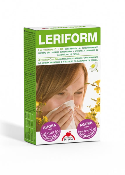 LERIFORM 60 CÁPSULAS  DIETETICOS INTERSA