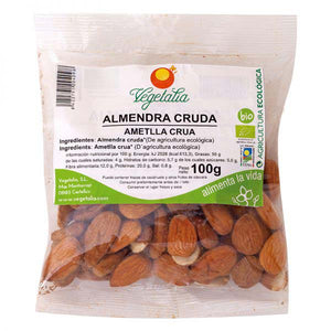 ALMENDRA NATURAL BIO 100G VEGETALIA