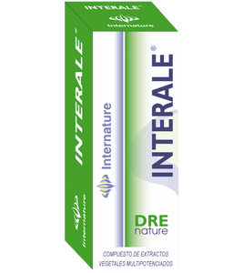 INTERALE 30ML DRENATURE INTERNATURE - Herbolario El Búho