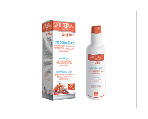 Comprar LECHE SOLAR SPRAY FP50+ ALOEDERMAL 150ML ESI