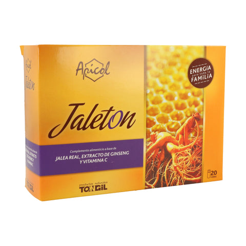 JALETON 20 AMPOLLAS TONGIL