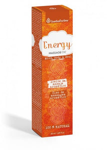 ACEITE DE MASSAGE ENERGY 50ml ESENTIAL AROMS