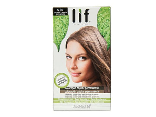 TINTE LIF HAIR COLORS 5.0N (MARRON CLARO NATURAL) DIETMED