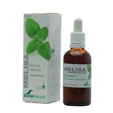 EXTRACTO MELISA 50ML TINTURA SORIA NATURAL