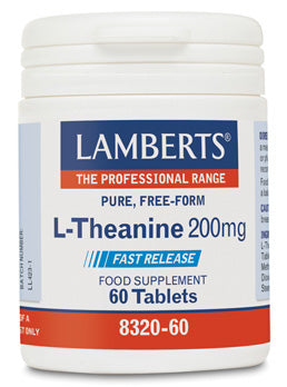 L-THEANINA 200MG 60 TABLETAS LAMBERTS