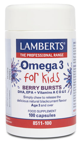 OMEGA 3 FOR KIDS 100 CÁPSULAS LAMBERTS