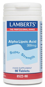 ACIDO ALPHA LIPOICO 300 MG 90 TABLETAS LAMBERTS