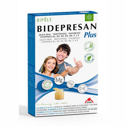 BIPOLE BIDEPRESAN PLUS 20 AMPOLLAS DIETETICOS INTERSA